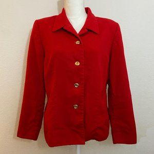 Pendleton Women's Blazer Jacket Red size 12